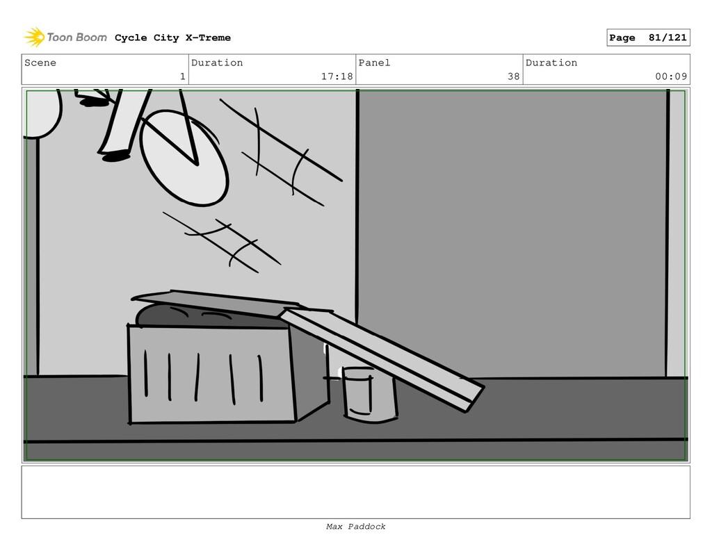 Scene 1 Duration 17:18 Panel 38 Duration 00:09 ...