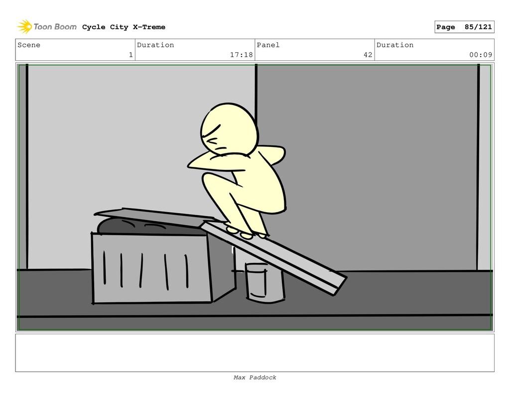 Scene 1 Duration 17:18 Panel 42 Duration 00:09 ...