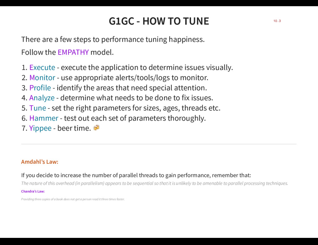 G1GC - HOW TO TUNE G1GC - HOW TO TUNE There are...