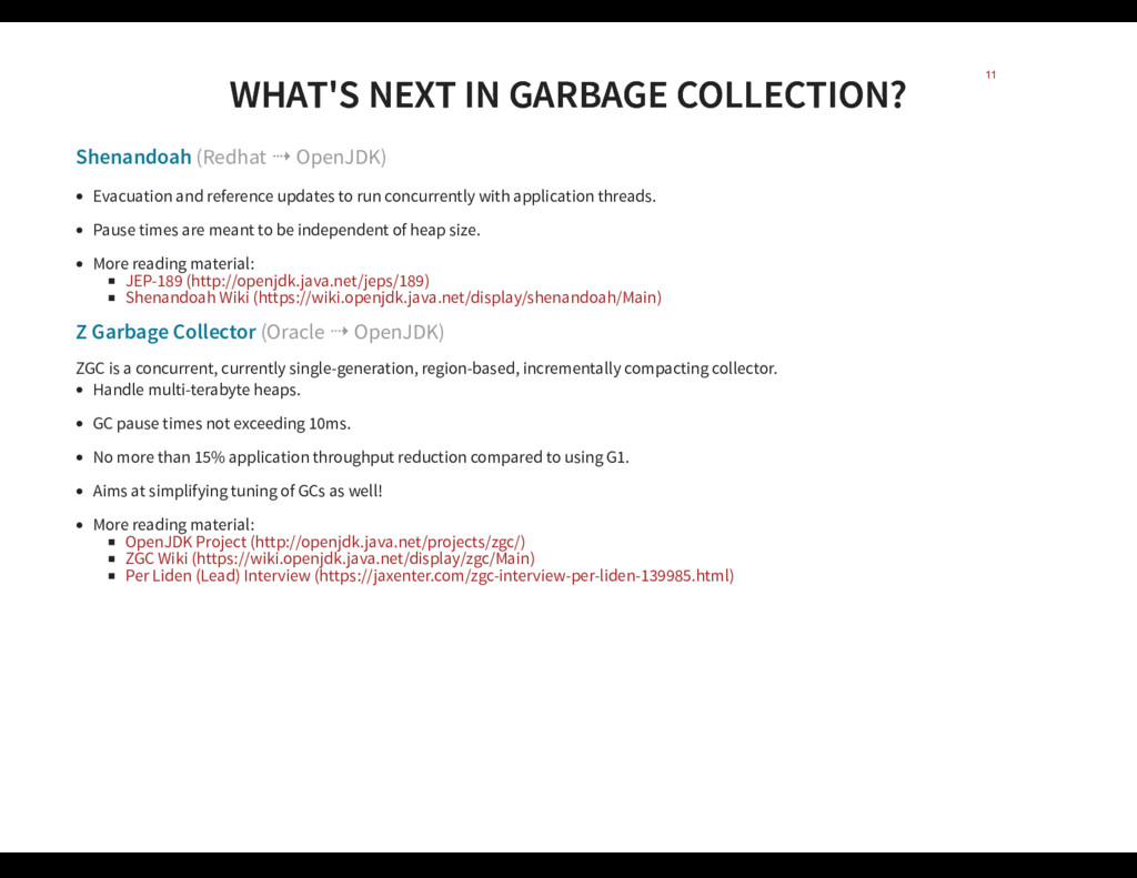 WHAT'S NEXT IN GARBAGE COLLECTION? WHAT'S NEXT ...