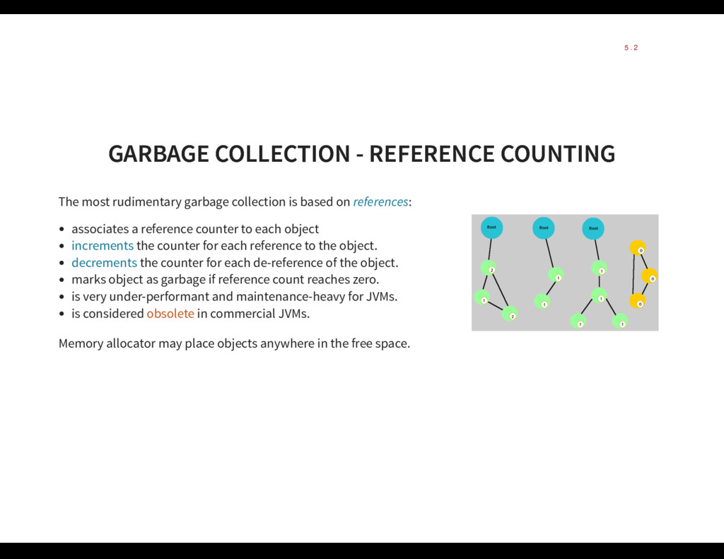 GARBAGE COLLECTION - REFERENCE COUNTING GARBAGE...