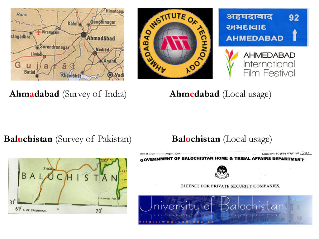 Ahmadabad (Survey of India) Baluchistan (Survey...