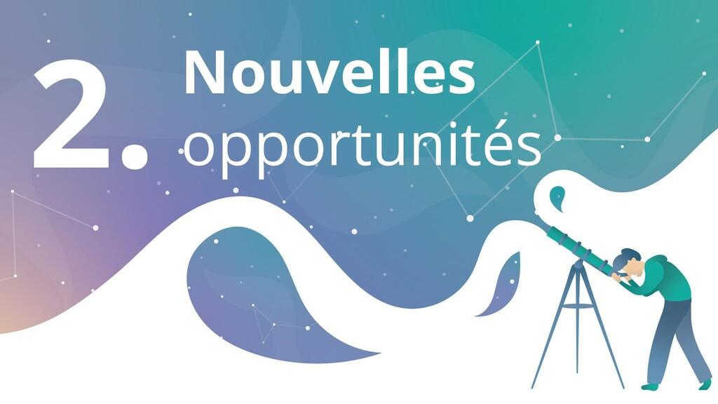 2. Nouvelles opportunités
