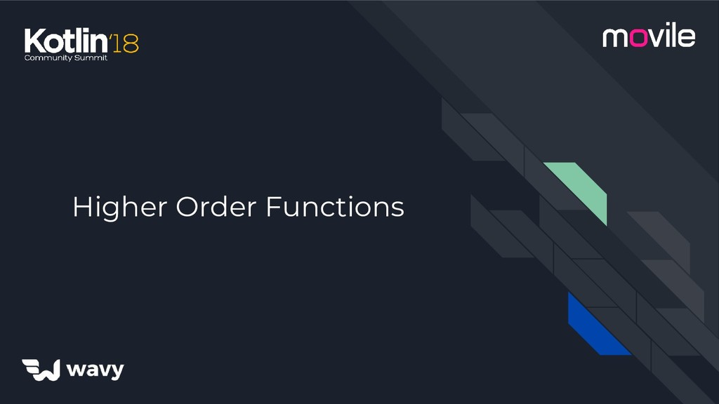 Higher Order Functions