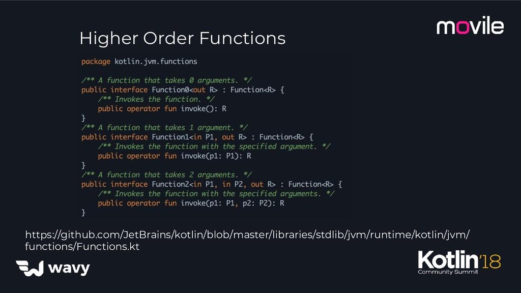 Higher Order Functions https://github.com/JetBr...