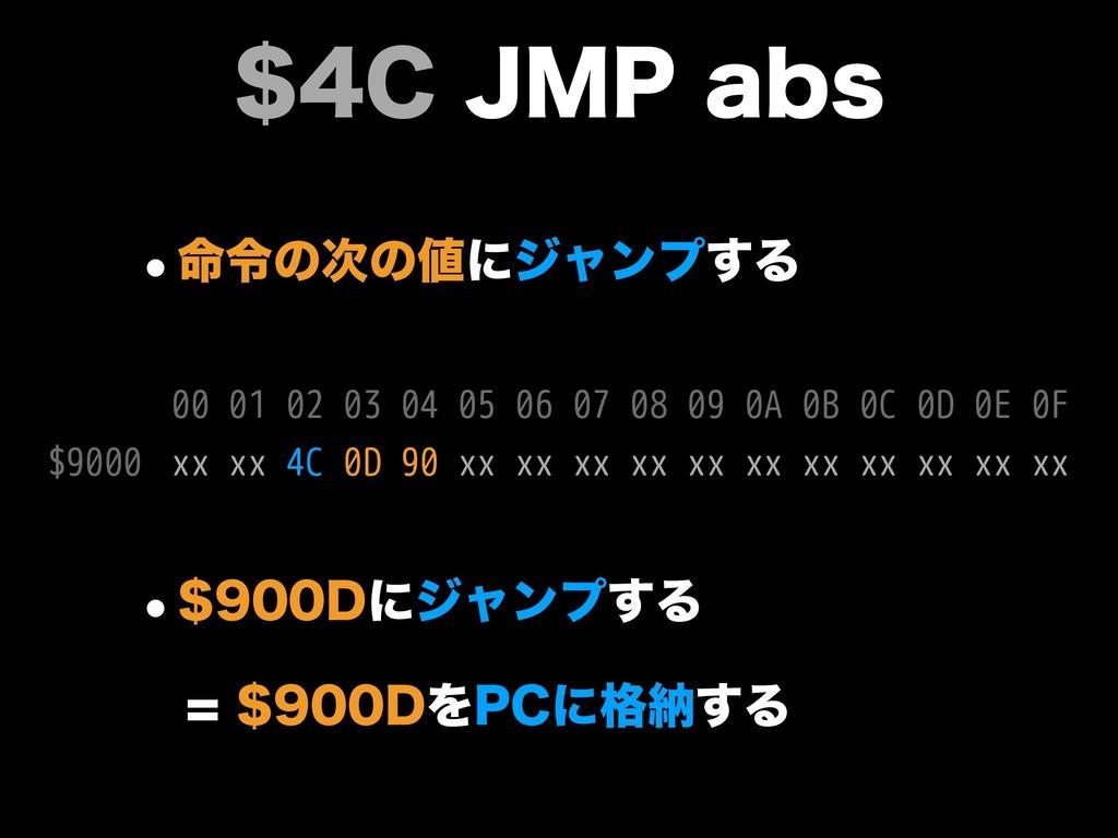 $+.1BCT w໋ྩͷͷʹδϟϯϓ͢Δ xx xx 4C 0D 90 xx xx...