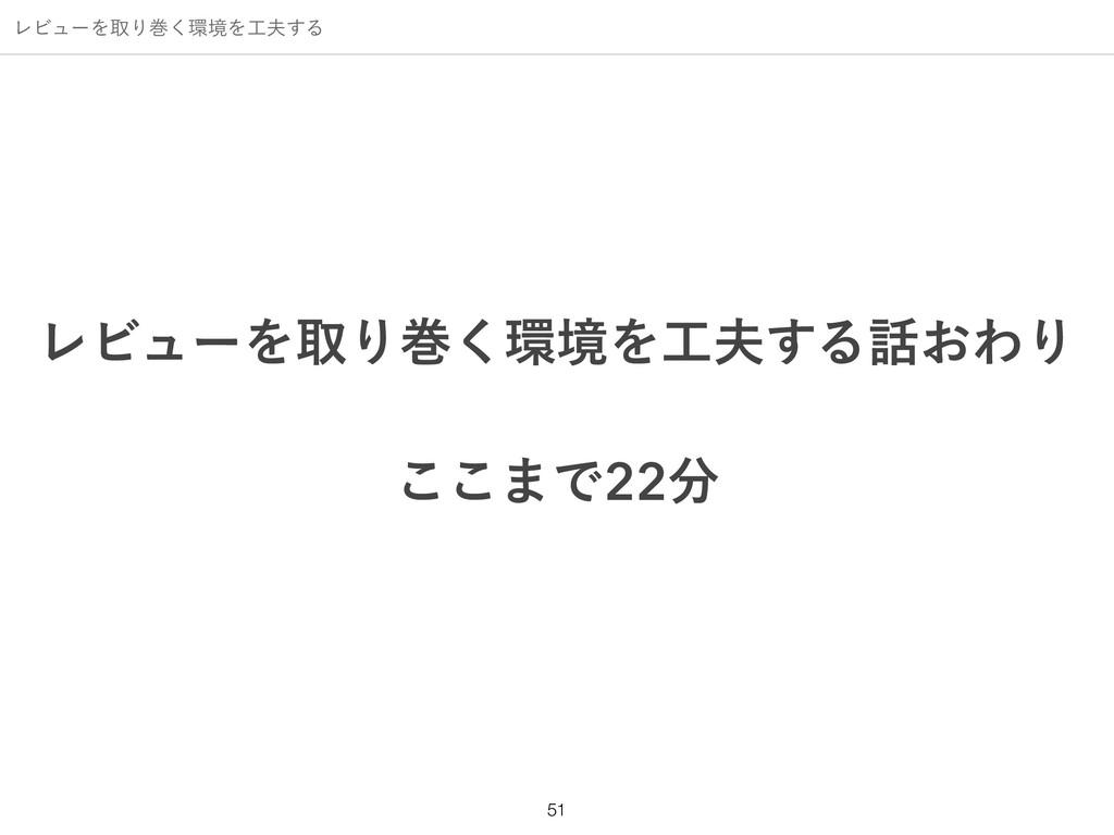 ϨϏϡʔΛऔΓר͘ڥΛ͢Δ !51 ϨϏϡʔΛऔΓר͘ڥΛ͢Δ͓ΘΓ ͜͜·Ͱ...