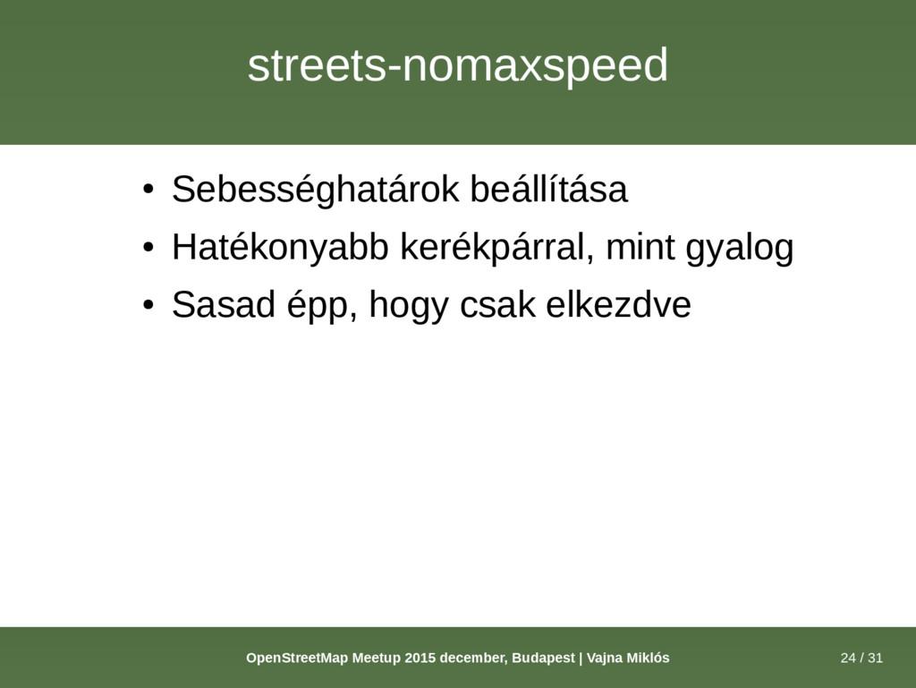24 / 31 OpenStreetMap Meetup 2015 december, Bud...