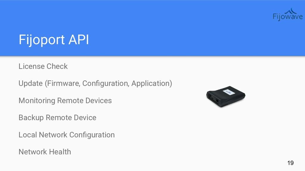 Fijoport API 19 License Check Update (Firmware,...
