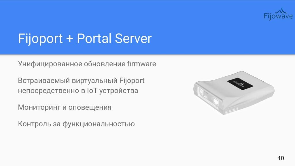 Fijoport + Portal Server Унифицированное обновл...