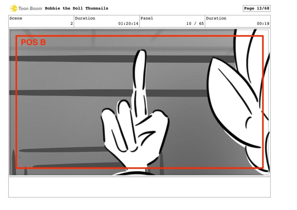 Scene 2 Duration 01:20:14 Panel 10 / 65 Duratio...
