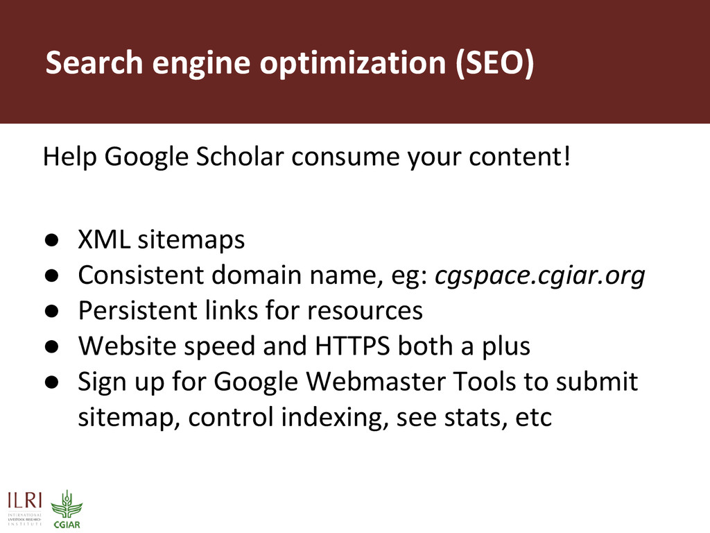 Search engine optimization (SEO) Help Google Sc...