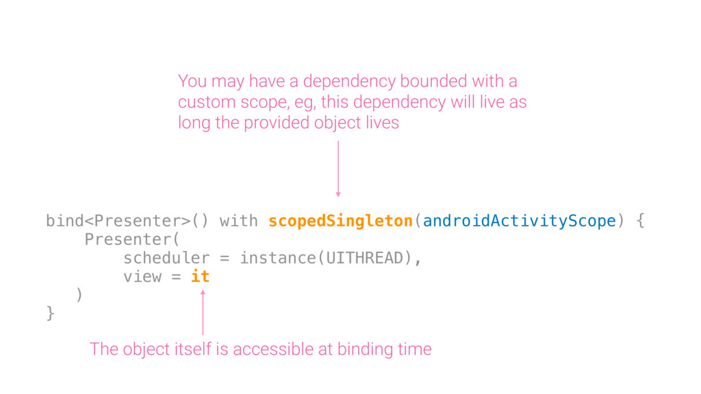 You may have a dependency bounded with a custom...