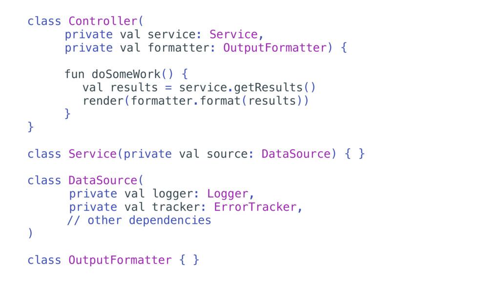 class Controller( private val service: Service,...