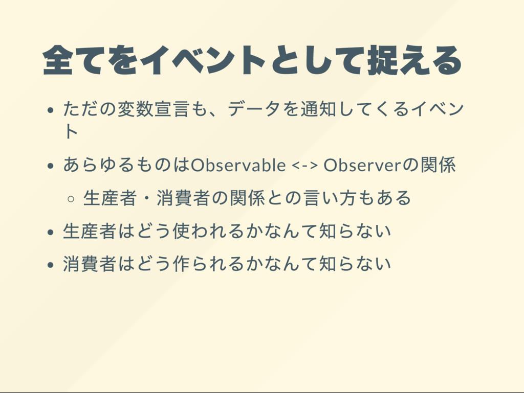 Observable <-> Observer