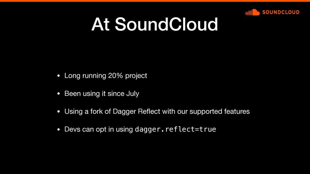 At SoundCloud • Long running 20% project  • Bee...
