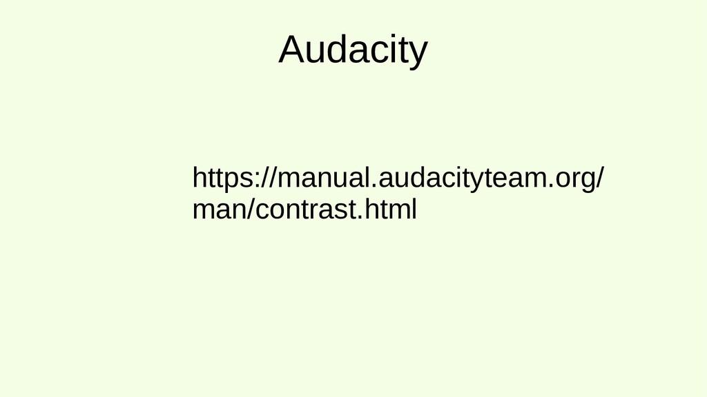 Audacity https://manual.audacityteam.org/ man/c...