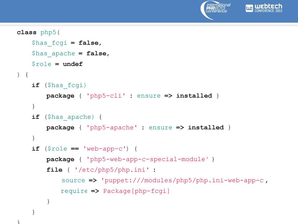 class php5( $has_fcgi = false, $has_apache = fa...