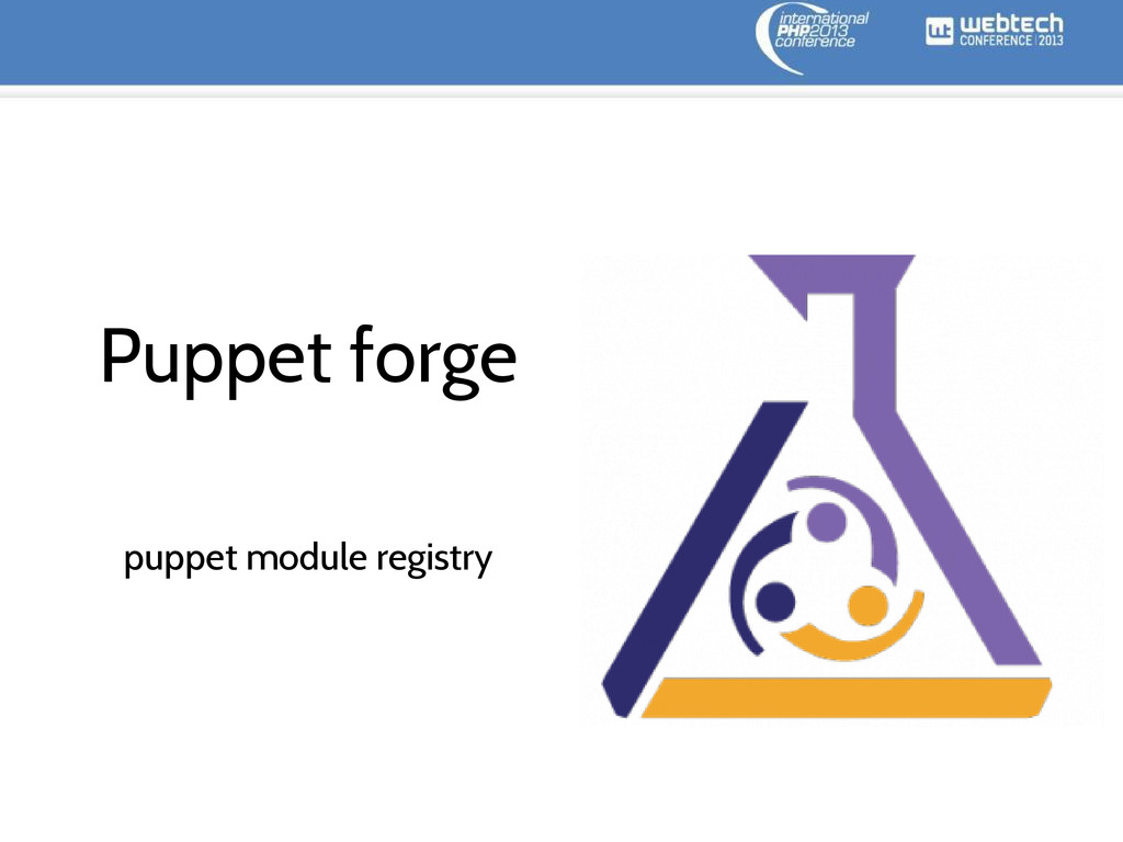 Puppet forge puppet module registry