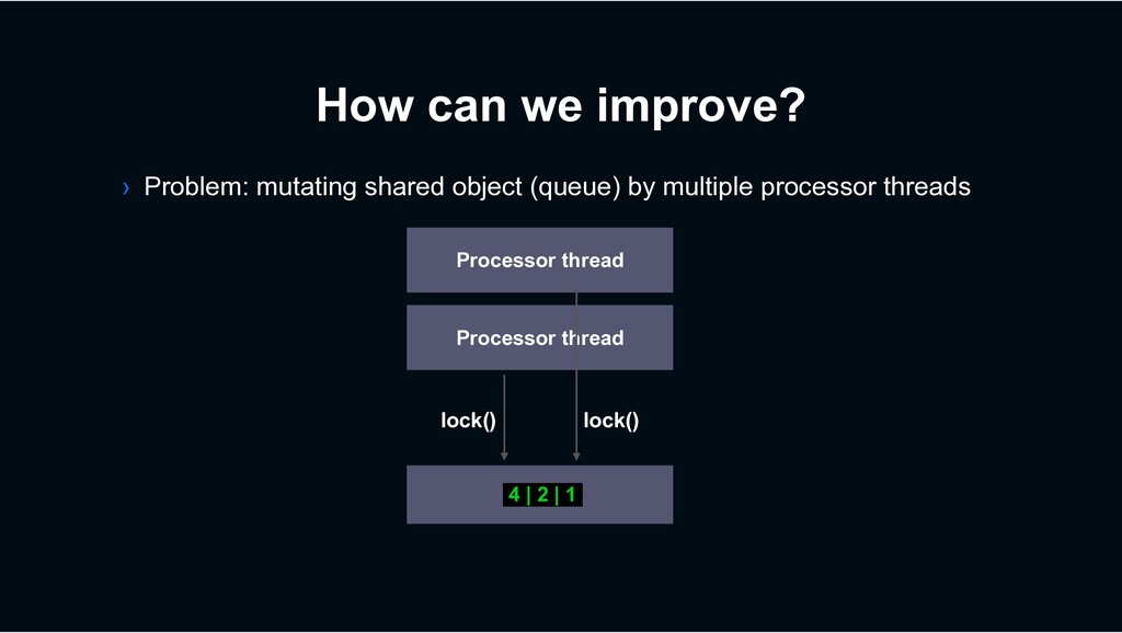 How can we improve? › Problem: mutating shared ...