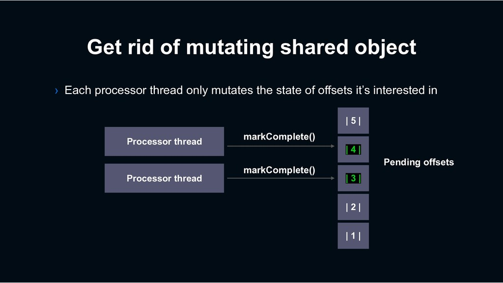 Get rid of mutating shared object › Each proces...