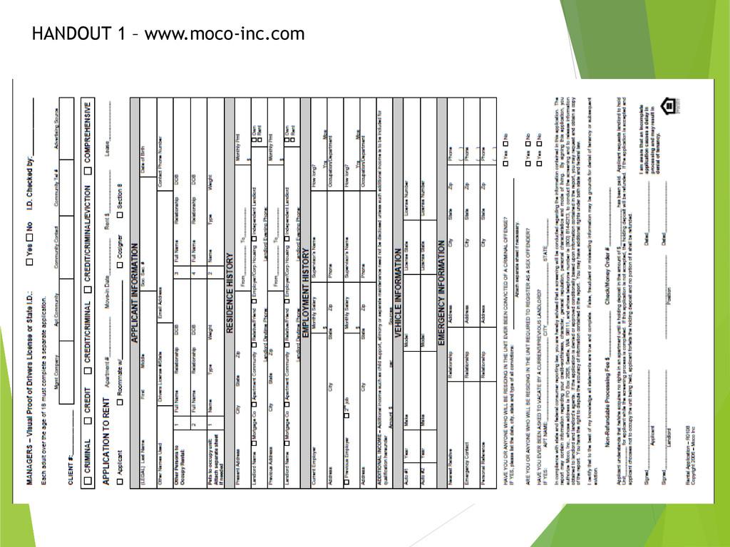 HANDOUT 1 – www.moco-inc.com