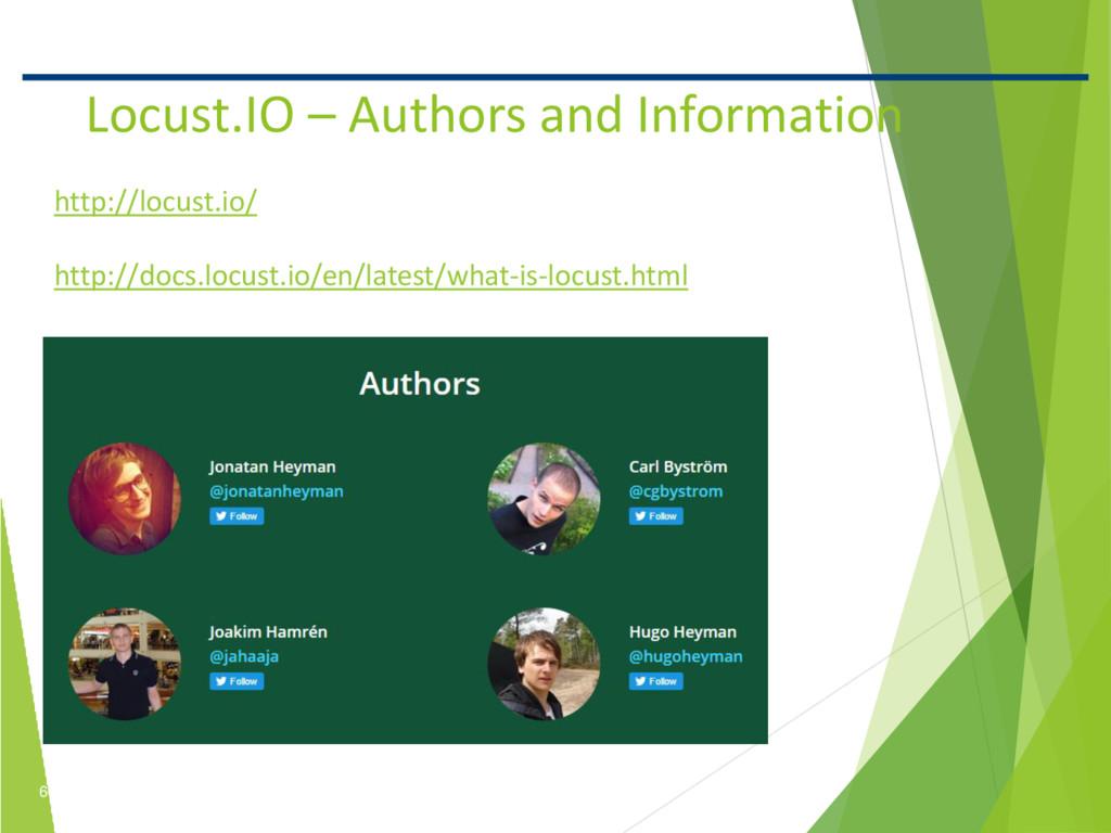 6 Confidential Locust.IO – Authors and Informat...