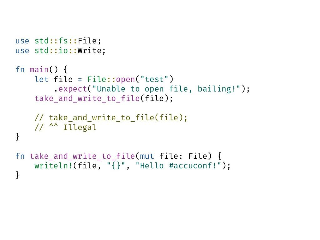 use std::fs::File; use std::io::Write; fn main(...