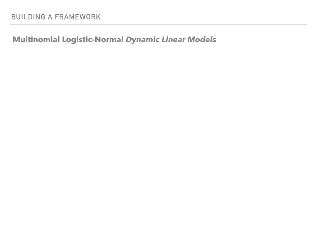 BUILDING A FRAMEWORK Multinomial Logistic-Norma...