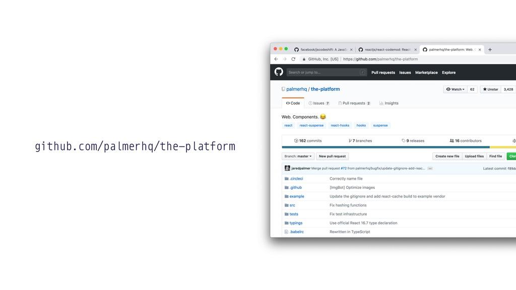 github.com/palmerhq/the-platform