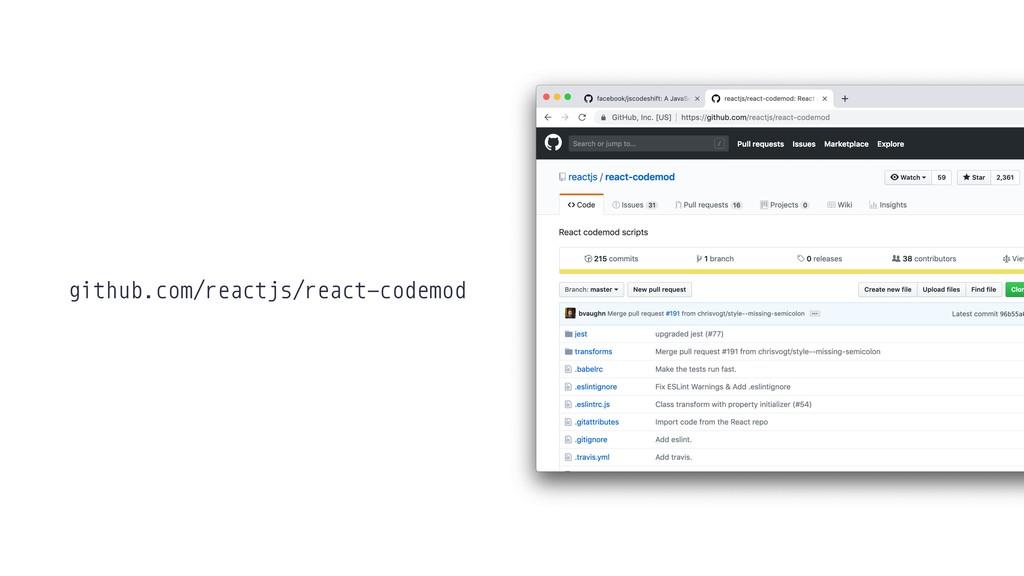github.com/reactjs/react-codemod