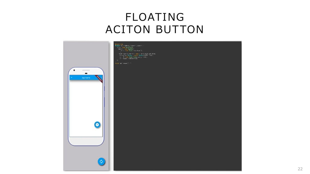FLOATING ACITON BUTTON 22