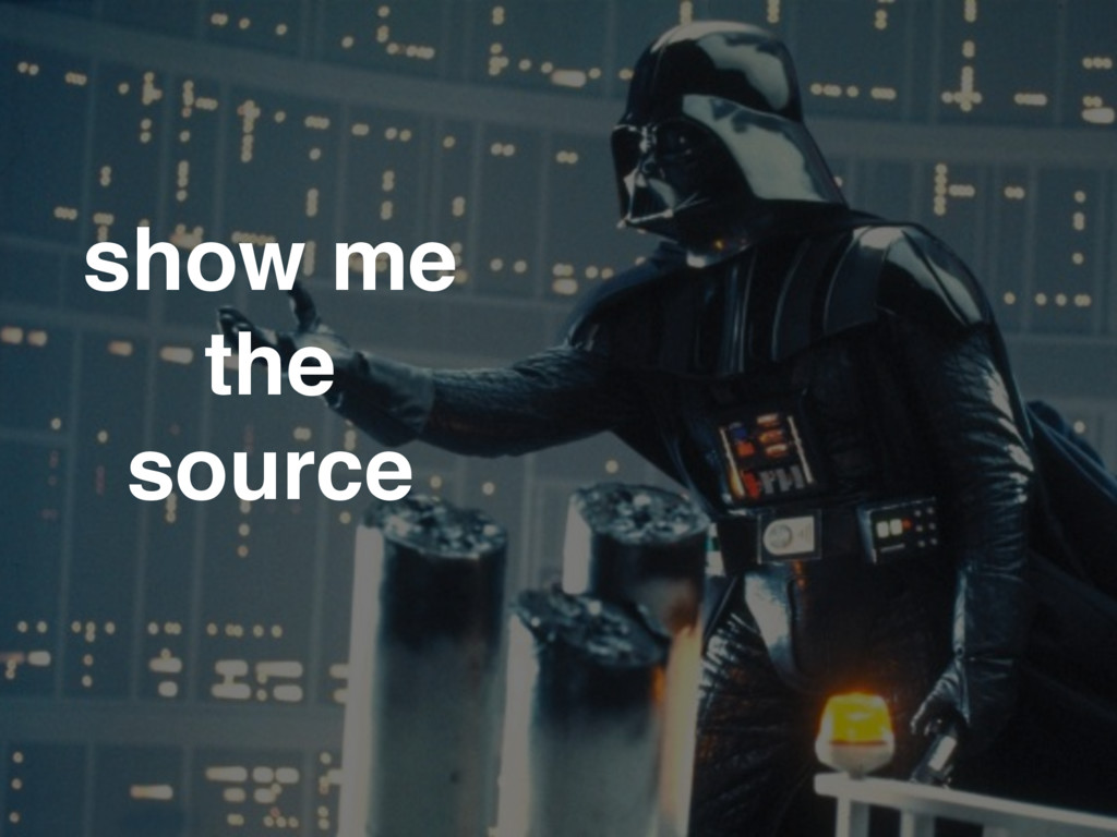 show me the source