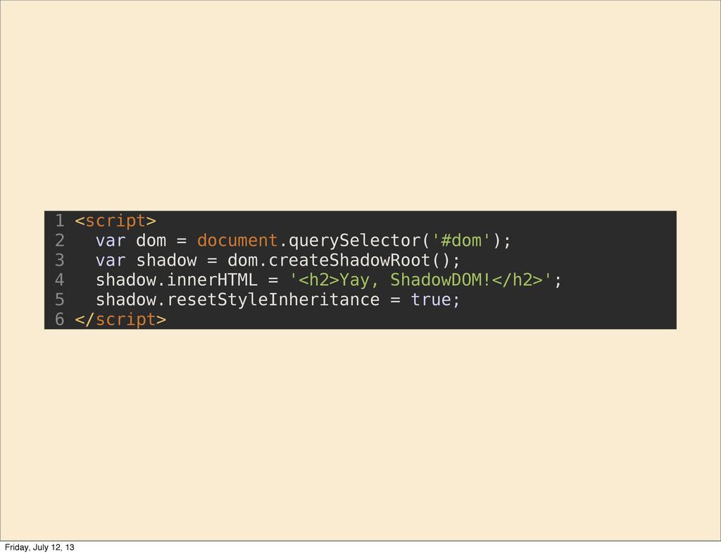 1 <script> 2 var dom = document.querySelector('...