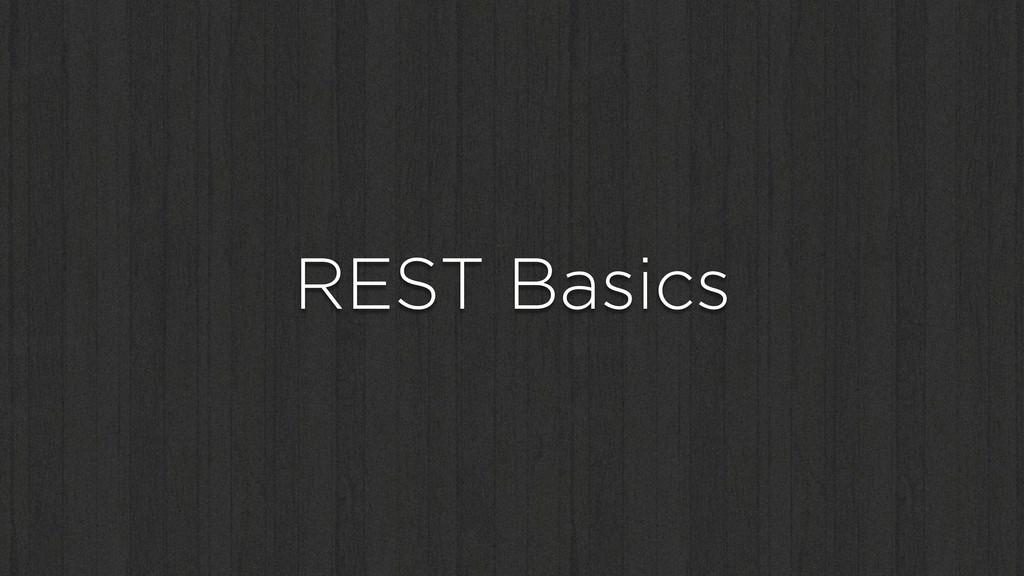 REST Basics
