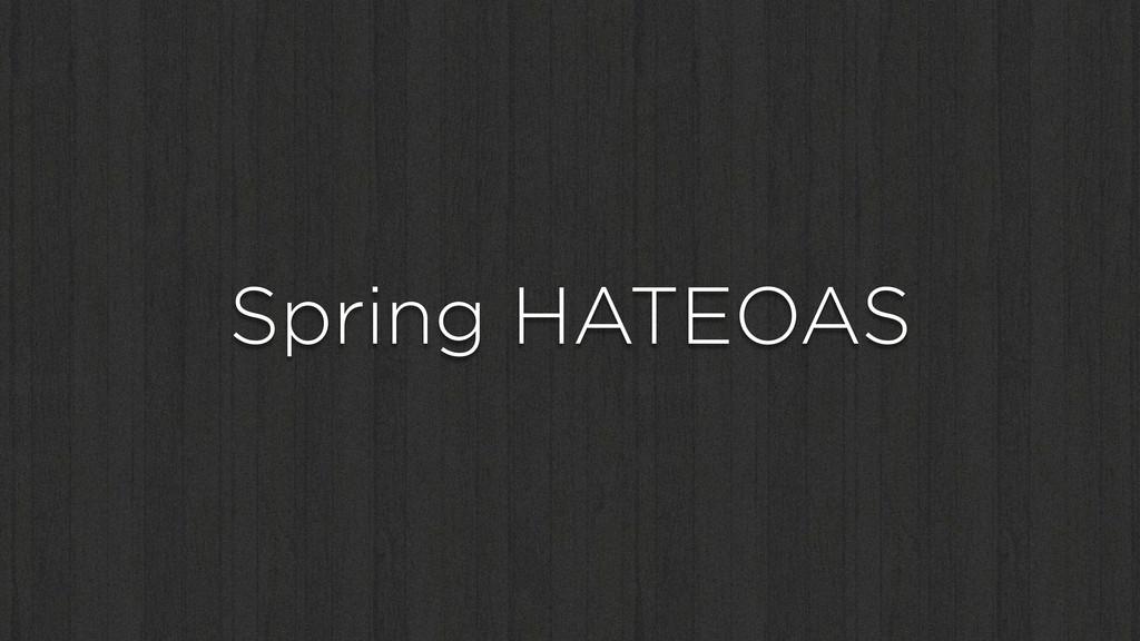 Spring HATEOAS