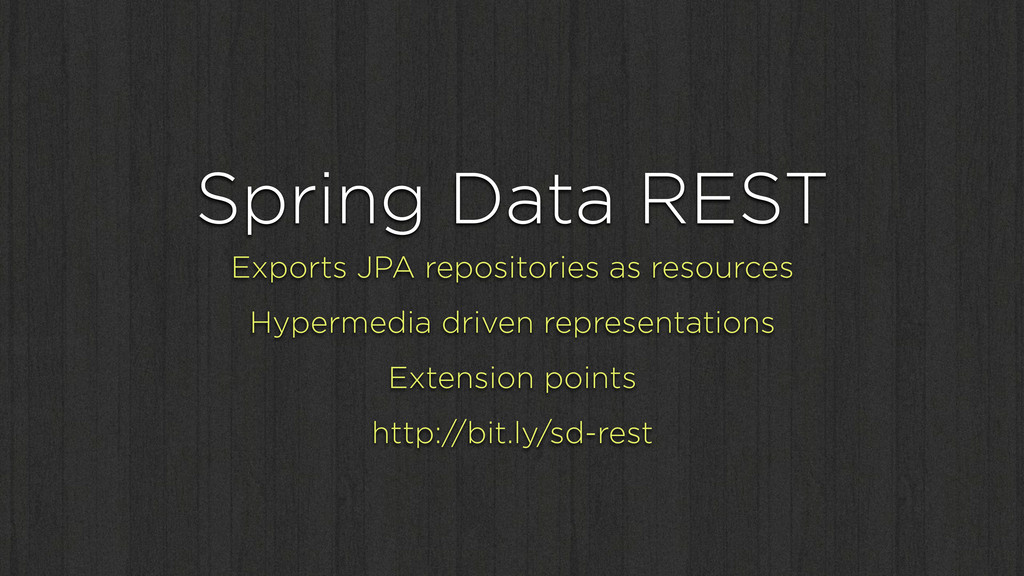 Spring Data REST Exports JPA repositories as re...