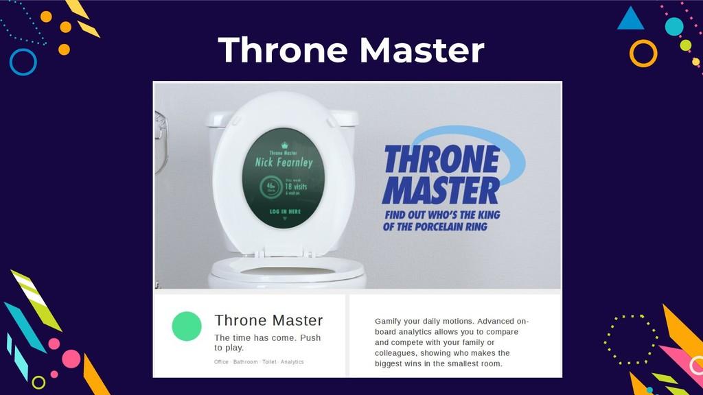 Throne Master