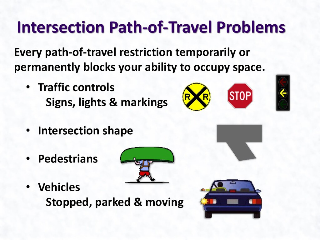 Every path-of-travel restriction temporarily or...