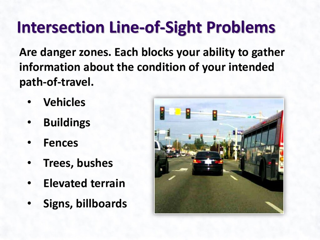 Are danger zones. Each blocks your ability to g...