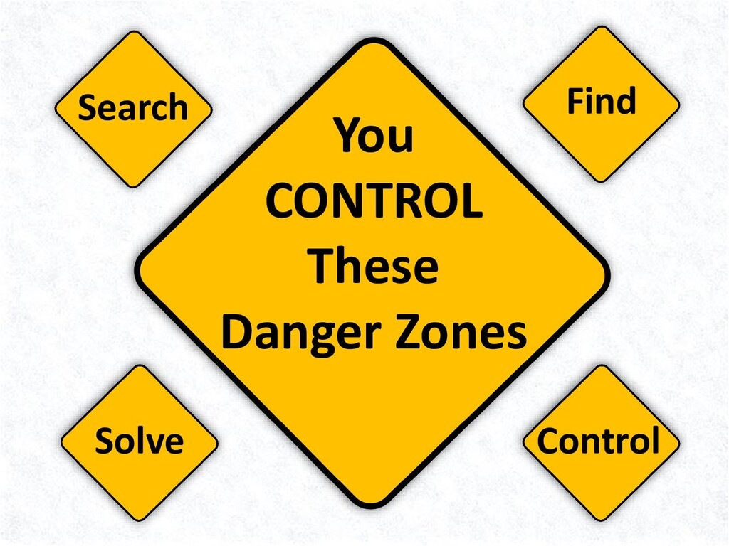 You CONTROL These Danger Zones Find Solve Contr...