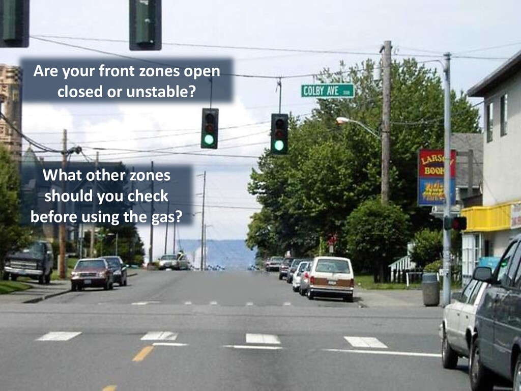 Are your front zones open closed or unstable? W...