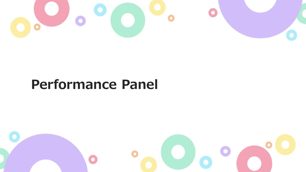 Performance Panel