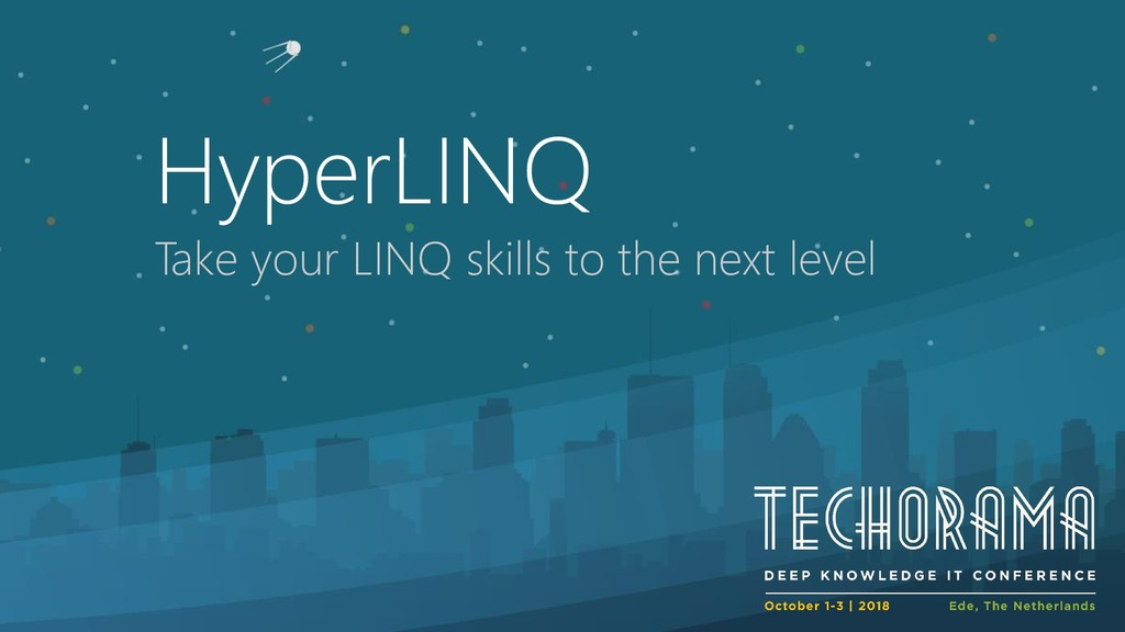 HyperLINQ Take your LINQ skills to the next lev...