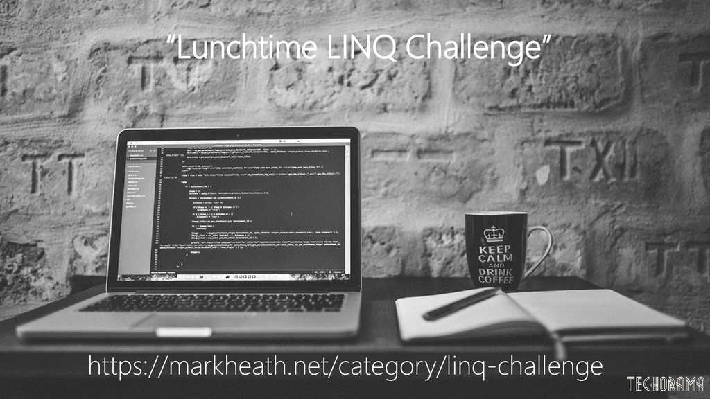 "https://markheath.net/category/linq-challenge ""..."