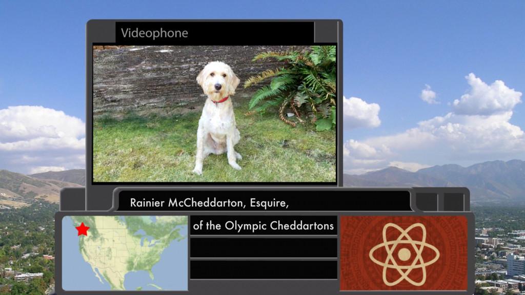 Rainier McCheddarton, Esquire, of the Olympic C...