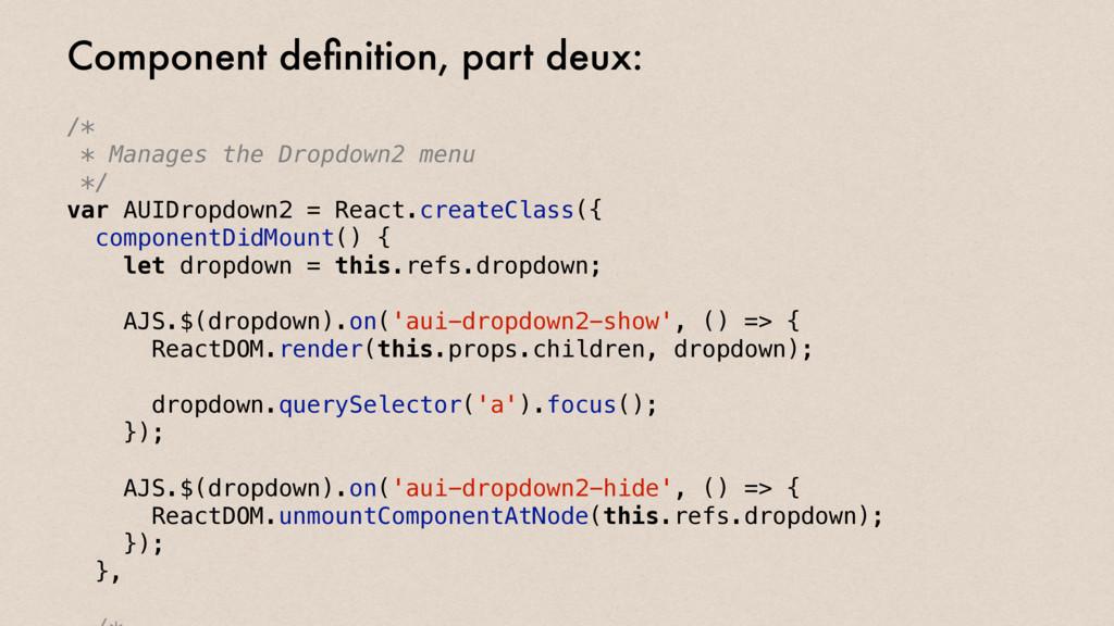 /* * Manages the Dropdown2 menu */ var AUIDropd...