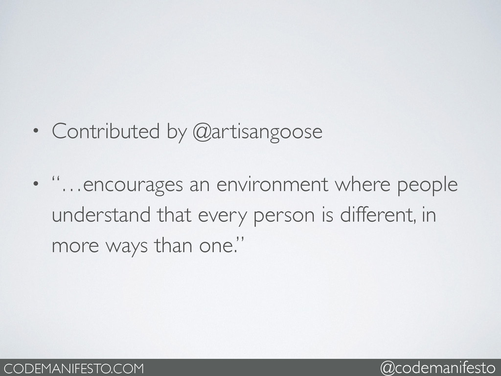 """• Contributed by @artisangoose  • """"…encourage..."""