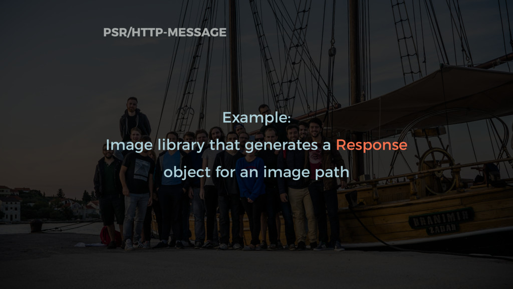 Example: Image library that generates a Respons...