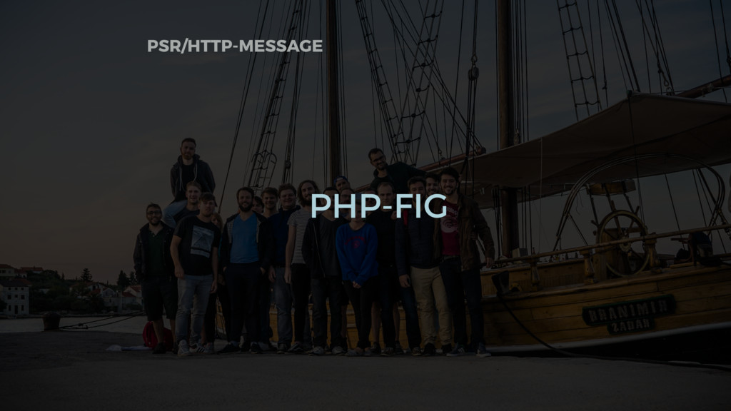 PSR/HTTP-MESSAGE PHP-FIG